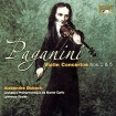 Alexandre Dubach Paganini Violin Concertos 2 & 5 Carlo Лоренс Фостер Lawrence Foster инфо 2426g.