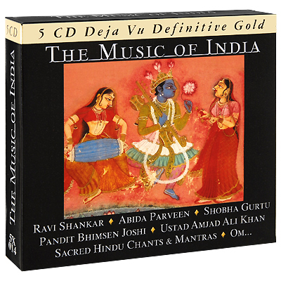 The Music Of India (5 CD) Серия: Deja Vu Definitive Gold инфо 4548g.