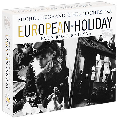 Michel Legrand & His Orchestra European Holiday (3 CD) Legrand L'Orchestre De Michel Legrand инфо 7217h.